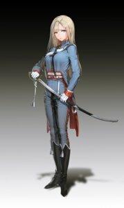 Rating: Safe Score: 109 Tags: banner_of_the_maid heels quuni sword uniform User: Dreista