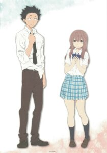 Rating: Safe Score: 32 Tags: ishida_shouya koe_no_katachi nishimiya_shouko seifuku User: yswysc