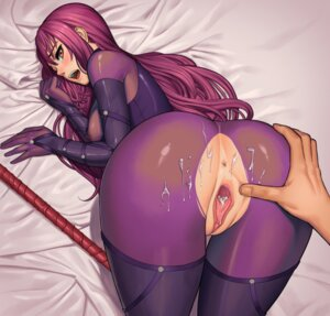 Rating: Explicit Score: 55 Tags: anus ass ass_grab bodysuit cum fate/grand_order lasterk nopan pussy scathach_(fate/grand_order) torn_clothes uncensored weapon User: BattlequeenYume