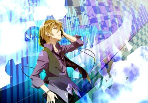 Rating: Safe Score: 9 Tags: fuwa_mahiro hakumai headphones male zetsuen_no_tempest User: charunetra