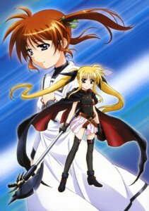 Rating: Safe Score: 20 Tags: fate_testarossa mahou_shoujo_lyrical_nanoha mahou_shoujo_lyrical_nanoha_the_movie_1st okuda_yasuhiro takamachi_nanoha thighhighs User: Ravenblitz