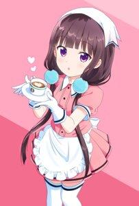 Rating: Safe Score: 48 Tags: blend_s maid noven sakuranomiya_maika thighhighs waitress User: saemonnokami