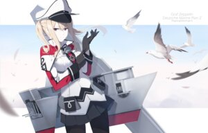 Rating: Safe Score: 44 Tags: ello-chan graf_zeppelin_(kancolle) kantai_collection pantyhose uniform User: Mr_GT