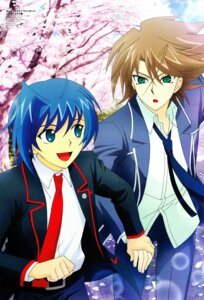 Rating: Questionable Score: 6 Tags: cardfight_vanguard jpeg_artifacts kai_toshiki male sendou_aichi suwa_kanae User: raafian