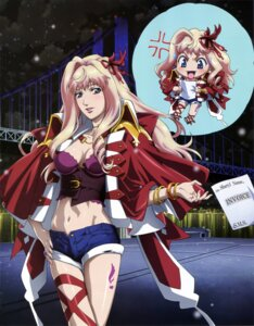 Rating: Questionable Score: 30 Tags: chibi cleavage macross macross_frontier marufuji_hirotaka sheryl_nome User: Aurelia