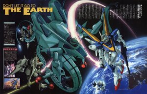 Rating: Safe Score: 3 Tags: gundam mecha murase_shuko victory_gundam User: Radioactive