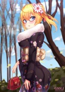 Rating: Safe Score: 21 Tags: as_val_(girls_frontline) ass girls_frontline gmkj kimono megane User: BattlequeenYume