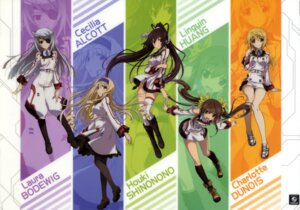 Rating: Safe Score: 44 Tags: cecilia_alcott charlotte_dunois eyepatch huang_lingyin infinite_stratos laura_bodewig pantyhose seifuku shinonono_houki thighhighs User: DDD