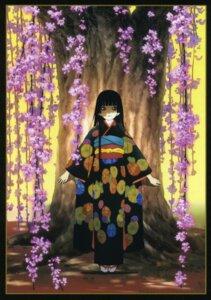 Rating: Safe Score: 10 Tags: enma_ai jigoku_shoujo kimono User: Radioactive