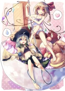 Rating: Safe Score: 42 Tags: bloomers flandre_scarlet komeiji_koishi teco touhou User: Mr_GT