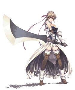 Rating: Safe Score: 106 Tags: murakami_suigun sword thighhighs User: fireattack