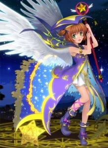Rating: Safe Score: 30 Tags: card_captor_sakura jpeg_artifacts kinomoto_sakura moonknives wings User: animeprincess