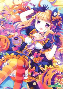 Rating: Safe Score: 31 Tags: buruma dress halloween sakurazawa_izumi thighhighs witch User: kiyoe