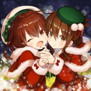 Rating: Questionable Score: 36 Tags: christmas ikazuchi_(kancolle) inazuma_(kancolle) kantai_collection tagme User: Omega87