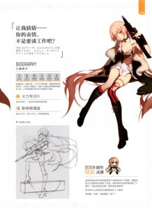 Rating: Questionable Score: 16 Tags: asukaziye cleavage garter girls_frontline gun heels ots-14_(girls_frontline) pantsu thighhighs torn_clothes User: Radioactive