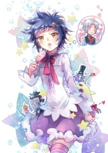 Rating: Safe Score: 14 Tags: allen_walker d.gray-man ekita_gen road_kamelot thighhighs tyki_mikk User: charunetra