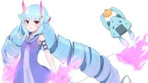 Rating: Safe Score: 17 Tags: animal_ears devil_mint_kiryuu devil_mint_kiryuu_project dress horns sanmaruni tail wallpaper User: BattlequeenYume