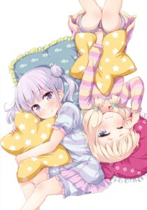 Rating: Safe Score: 75 Tags: new_game! pajama sakura_nene suzukaze_aoba tokunou_shoutarou User: Radioactive