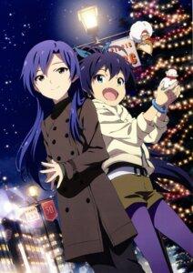 Rating: Safe Score: 37 Tags: christmas ganaha_hibiki kawakami_tetsuya kisaragi_chihaya the_idolm@ster User: animeprincess
