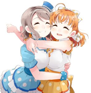 Rating: Safe Score: 33 Tags: dress love_live! love_live!_sunshine!! symmetrical_docking tagme takami_chika watanabe_you User: Radioactive