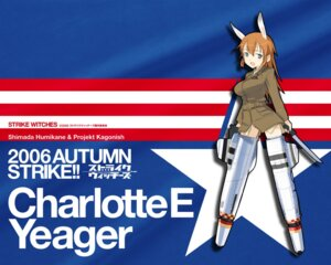 Rating: Safe Score: 11 Tags: charlotte_e_yeager strike_witches wallpaper User: enker