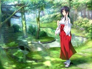 Rating: Safe Score: 58 Tags: game_cg hibiki_works iizuki_tasuku izumi_wakoto lovely_x_cation_2 miko User: Radioactive