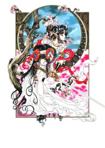 Rating: Safe Score: 3 Tags: aizen_myuu-ou ashura clamp rgveda User: Radioactive