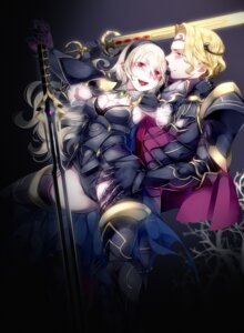 Rating: Questionable Score: 20 Tags: armor cleavage fingering fire_emblem_if kamui_(fire_emblem) negio pantsu sword thighhighs xander_(fire_emblem) User: Mr_GT
