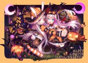 Rating: Safe Score: 34 Tags: animal_ears ass autographed bunny_ears halloween heels neko shennai_misha tail thighhighs wings witch User: Mr_GT