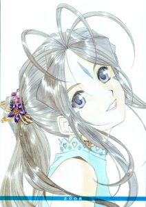 Rating: Safe Score: 8 Tags: ah_my_goddess belldandy fujishima_kousuke User: minakomel