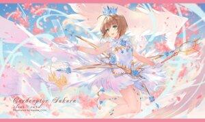 Rating: Safe Score: 26 Tags: card_captor_sakura criin dress heels kinomoto_sakura weapon wings User: RyuZU