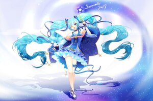 Rating: Safe Score: 32 Tags: garter hatsune_miku lepoule_(kmjh90) vocaloid yuki_miku User: Mr_GT