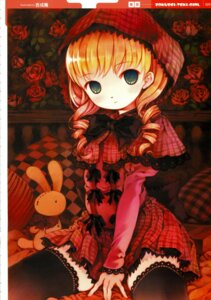 Rating: Safe Score: 26 Tags: lolita_fashion red_riding_hood thighhighs yoshinari_atsushi User: Radioactive