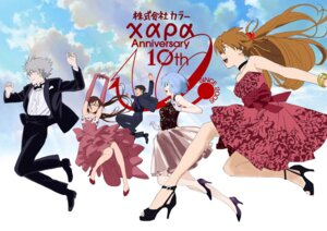 Rating: Safe Score: 30 Tags: business_suit dress heels honda_takeshi megane neon_genesis_evangelion User: saemonnokami