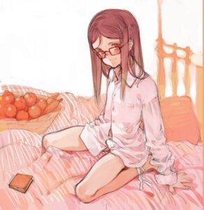 Rating: Safe Score: 14 Tags: dress_shirt littlewitch megane oyari_ashito pantsu User: petopeto