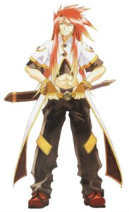 Rating: Safe Score: 4 Tags: fujishima_kousuke luke_fone_fabre male open_shirt sword tales_of tales_of_the_abyss User: Radioactive
