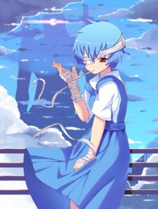 Rating: Safe Score: 18 Tags: ayanami_rei bandages kendo neon_genesis_evangelion User: fairyren