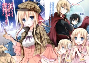 Rating: Safe Score: 29 Tags: dress_na_boku_ga_yangoto_naki_katagata_no_kateikyoushi_sama_na_ken karory sherlock_doyle trap User: milumon