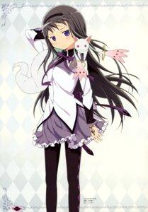 Rating: Questionable Score: 18 Tags: akemi_homura kyubey nakamura_naoto pantyhose puella_magi_madoka_magica User: drop