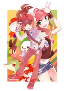 Rating: Safe Score: 7 Tags: kurodeko oshawott pokemon snivy tepig touko_(pokemon) touya_(pokemon) User: charunetra