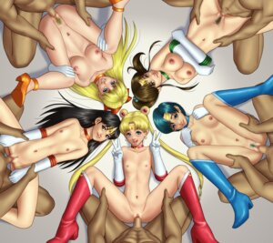 Rating: Explicit Score: 33 Tags: aino_minako breast_hold censored heels hino_rei kino_makoto mizuno_ami naked nipples penis pubic_hair pussy sailor_moon sex tsukino_usagi User: Fanla