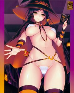 Rating: Questionable Score: 156 Tags: bikini cameltoe cygnus erect_nipples swimsuits thighhighs witch User: abcdefh