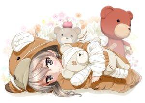 Rating: Safe Score: 38 Tags: animal_ears bandages excel_(shena) girls_und_panzer pajama shimada_arisu User: Spidey