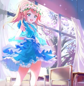 Rating: Safe Score: 63 Tags: 41y ayase_eli dress love_live! thighhighs wedtaro User: Romio88