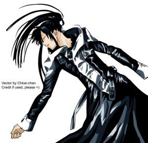 Rating: Safe Score: 7 Tags: d.gray-man kanda_yu male signed vector_trace User: Radioactive