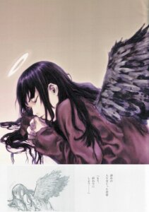 Rating: Safe Score: 7 Tags: abe_yoshitoshi haibane_renmei reki_(haibane_renmei) wings User: Davison