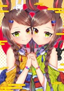 Rating: Safe Score: 13 Tags: akiran'nu animal_ears bunny_ears heterochromia japanese_clothes User: Mr_GT