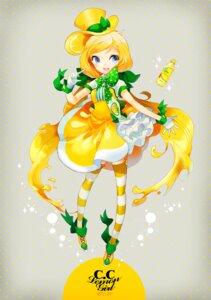Rating: Safe Score: 6 Tags: c.c._lemon c.c._lemon_(character) jpeg_artifacts stockings thighhighs welchino User: Phiris