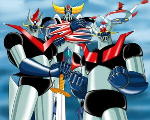 Rating: Safe Score: 3 Tags: great_mazinger mazinger_z mecha nagai_gou ufo_robo_grendizer User: Radioactive