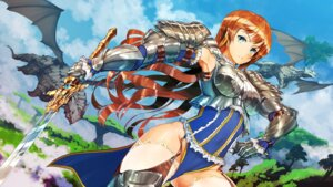 Rating: Safe Score: 30 Tags: armor jan_(artist) sword thighhighs User: blooregardo